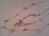 ピンクシャンパン真珠