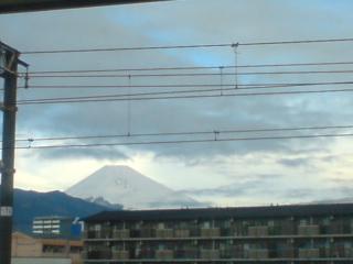 駅弁と富士山