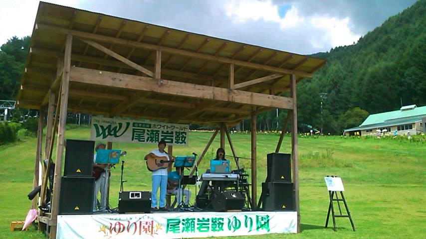 ゆり園ライブ